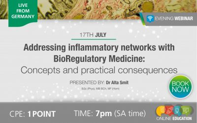 Addressing inflammatory networks with BioRegulatory Medicine